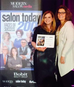 Salon Today Award Valda Sarty and Stacy Soble