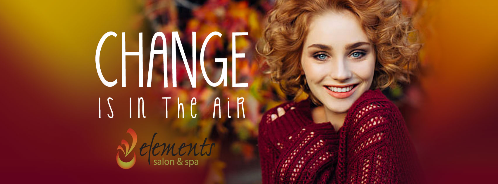 Elements Salon and Spa fall Change