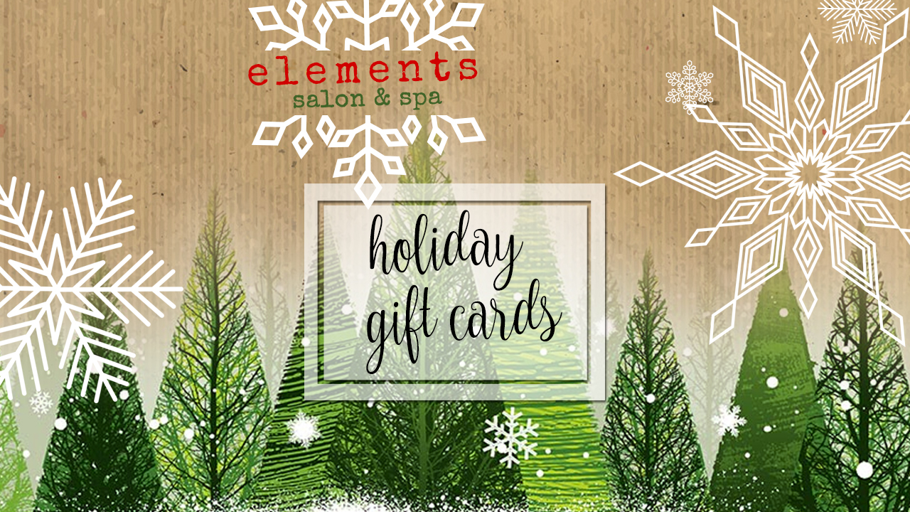 Elements Salon and Spa Holiday Gift Cards